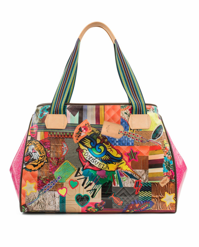 Patches Legacy Grande Tote by Consuela