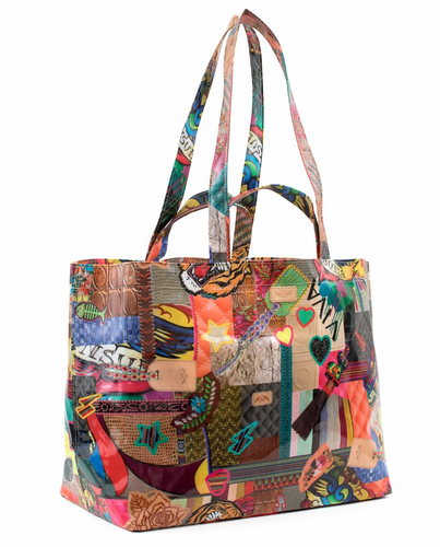 Patches Legacy Jumbo Bag by Consuela