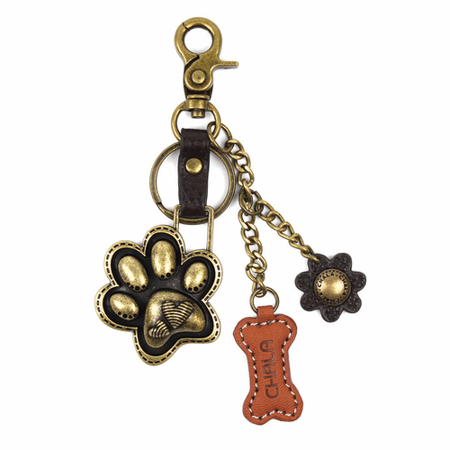 Paw Print Charming Key Chain by Chala