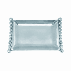 Pearled Flanked Small Tray by Mariposa