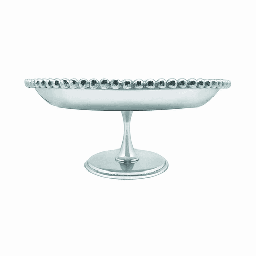 Pearled Footed Cake Stand by Mariposa
