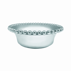 Pearled Small Open Face Bowl by Mariposa