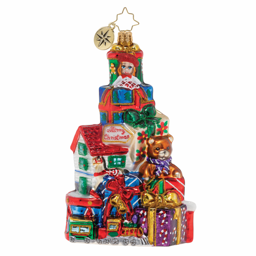Pile of Terrific Toys! Ornament by Christopher Radko