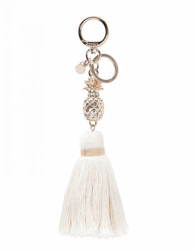 Pineapple Tassel Bag Charm by Spartina 449