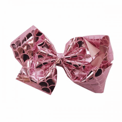 Pink Fishscale Bow by Simply Southern