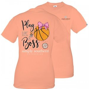 Play Like a Boss Basketball Short Sleeve Tee by Simply Southern