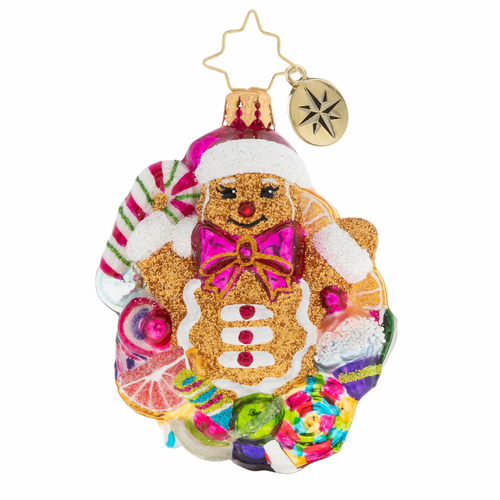 Popping Out Surprise Little Gems Ornament by Christopher Radko - (Available March)