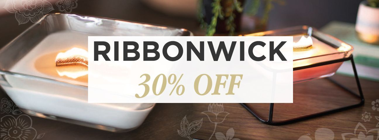 Premium Collection RibbonWick Candles