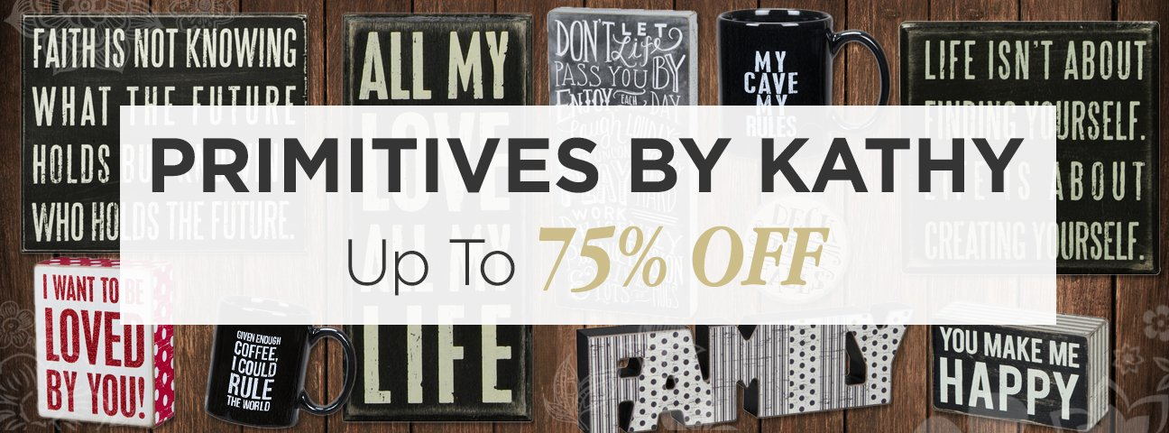 Primitives By Kathy Closeouts
