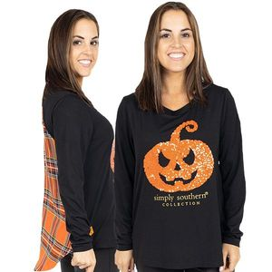 Pumpkin Blouses by Simply Southern