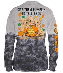 Pumpkins To Talk About Long Sleeve Tee by Simply Southern