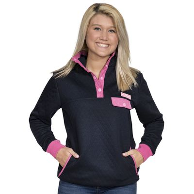 Quilt Pullover by Simply Southern