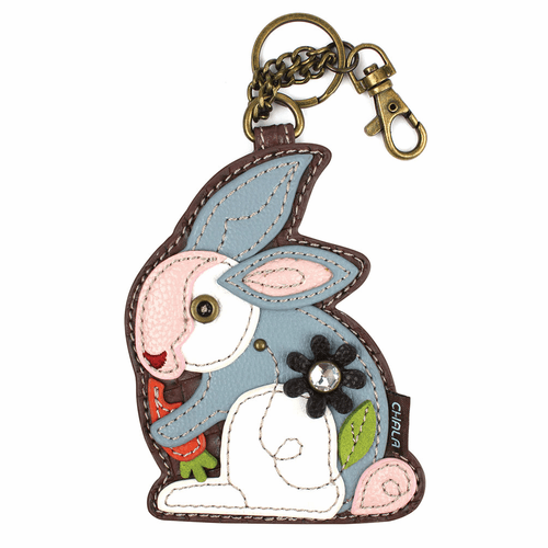 Rabbit Key Fob and Coin Purse by Chala