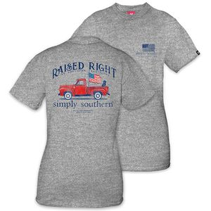 Raised Right Unisex Short Sleeve Tee by Simply Southern