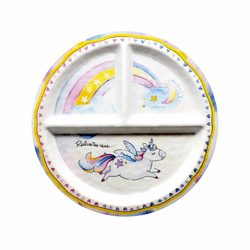 Realize Your Dreams Sectioned Plate by Baby Cie