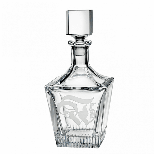 "Retro ""W"" Decanter by Waterford"