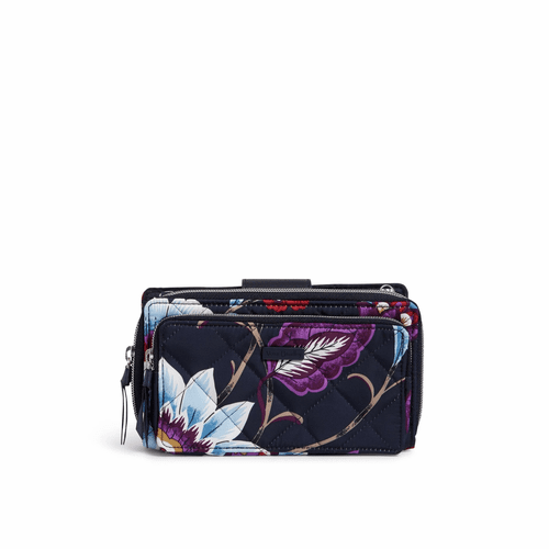 RFID Deluxe All Together Crossbody Mayfair in Bloom by Vera Bradley