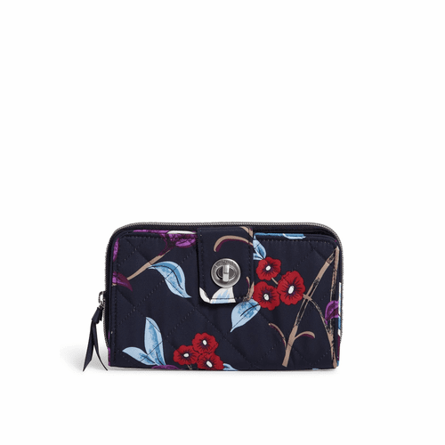 RFID Turnlock Wallet Mayfair in Bloom by Vera Bradley