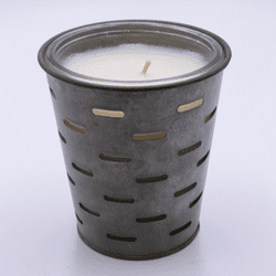 Roastery Caf� Olive Bucket Candle by Park Hill Collection