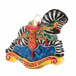Rocking In Stripes Limited Edition Ornament by Christopher Radko