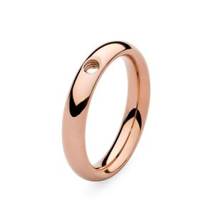 Rose Gold Basic Small Interchangeable Ring by Qudo Jewelry