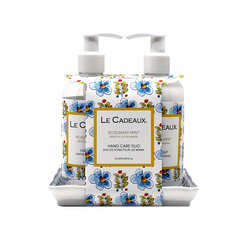 Rosemary Mint Scented 8 oz. Hand Wash & Cream Duo by Le Cadeaux