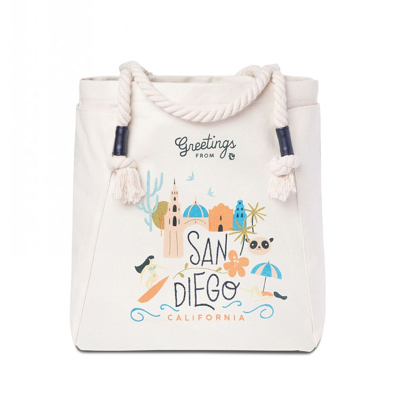 Spartina 449Greetings from New York Canvas Tote
