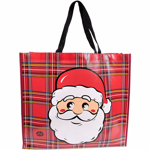 Santa Shopper Ecotote by Simply Southern