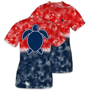Save the Turtles Logo America Short Sleeve Tee by Simply Southern