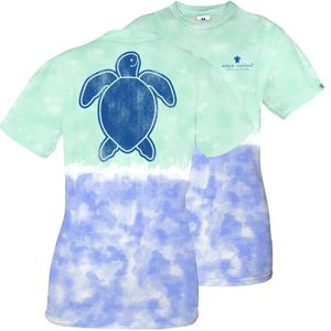 Save the Turtles Logo Island  Short Sleeve Tee by Simply Southern
