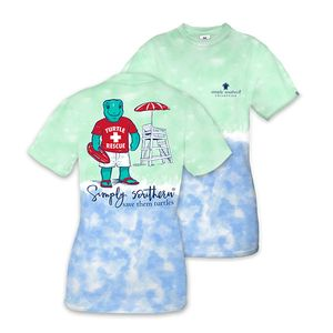Save the Turtles Save Them Turtles Short Sleeve Tee by Simply Southern