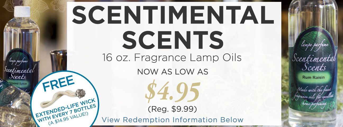 Scentimental Scents Fragrance Lamp and Reed Diffuser Oils