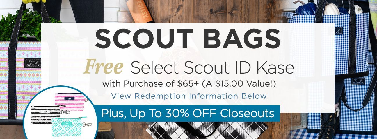 Scout Bags Closeouts