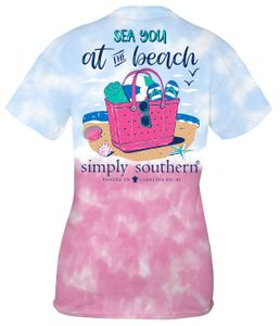 Sea You at the Beach Icepop Short Sleeve Tee by Simply Southern