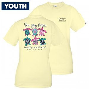 Sea You Later YOUTH Short Sleeve Tee by Simply Southern