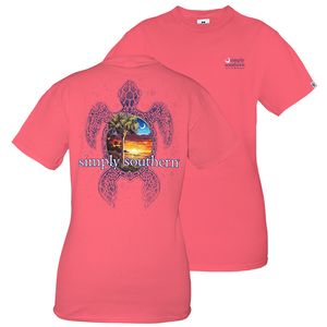 Seaturtle Unisex Short Sleeve Tee by Simply Southern