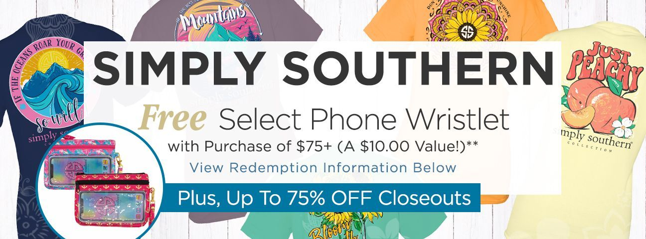 Select Wristlets by Simply Southern