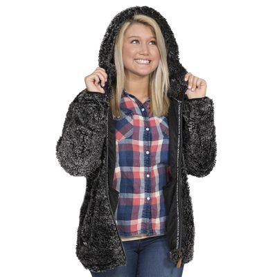 Sherpa Hoodie by Simply Southern
