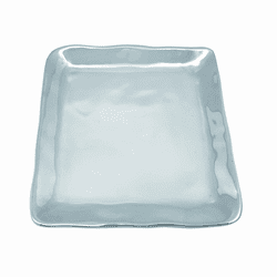 Shimmer Small Square Plate by Mariposa