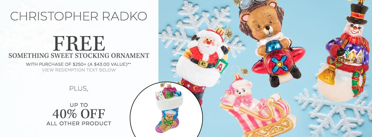 All Ornaments by Christopher Radko