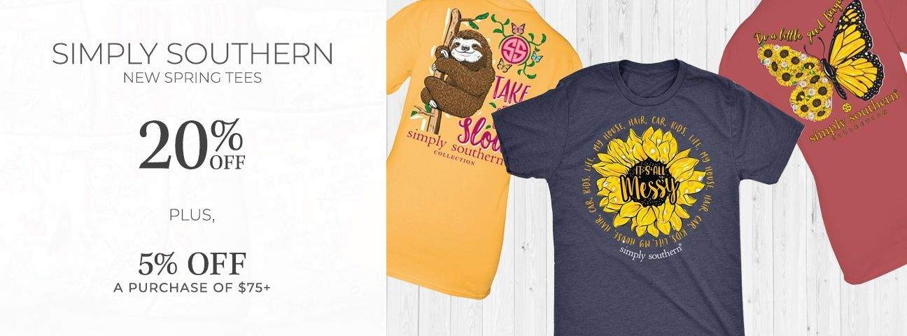 Short Sleeve Tees by Simply Southern