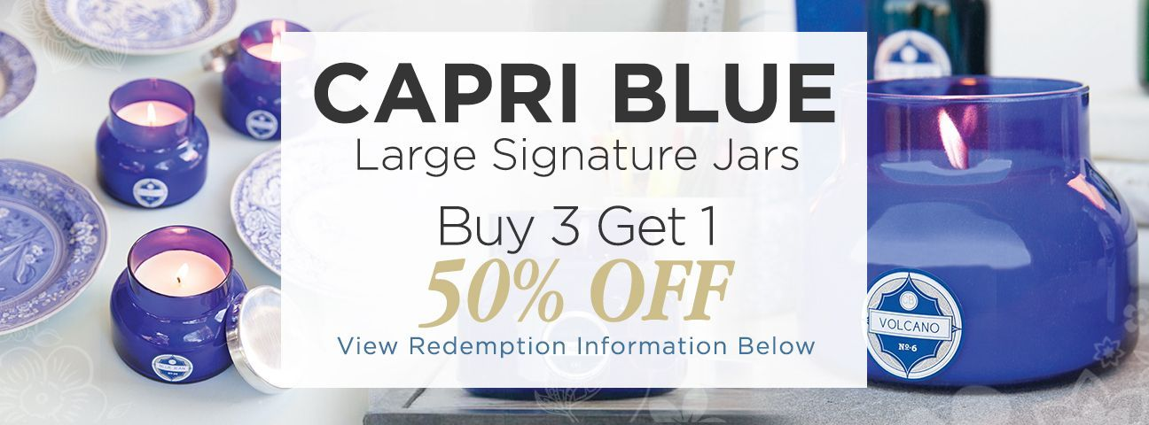 Signature Jar Candles by Capri Blue