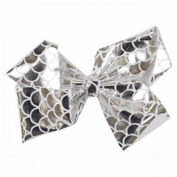 Silver Fishscale Bow by Simply Southern