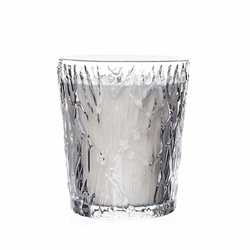 Silver Lake Peony Blossom Candle by Simon Pearce