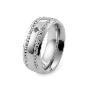 Silver Lecce Basic Interchangeable Ring  by Qudo Jewelry