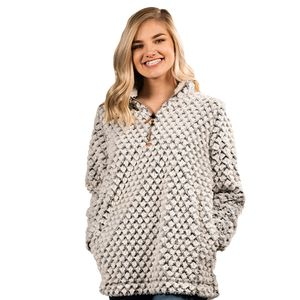 Simply Fuzzy Pullover by Simply Southern