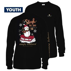 Sleigh YOUTH Long Sleeve Tee by Simply Southern