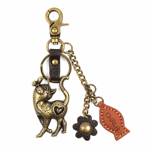 Slim Cat Charming Key Chain by Chala