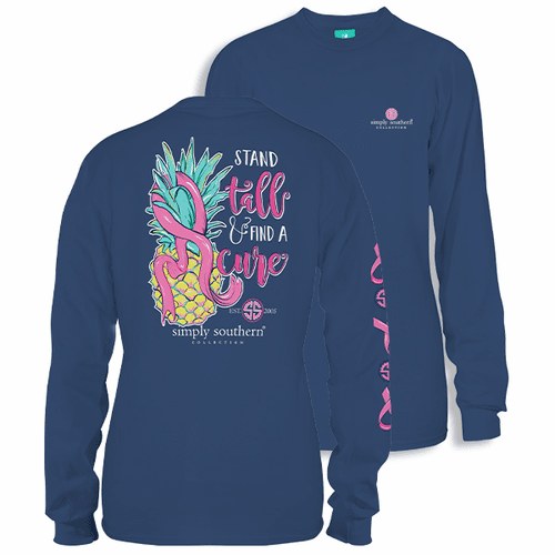 Small Stand Tall Moonrise Long Sleeve Tee by Simply Southern