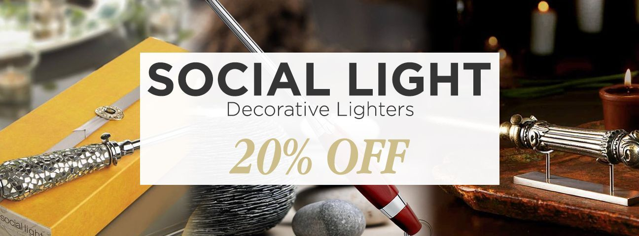 Social Light Decorative Lighters